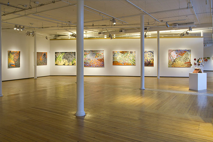 2012 AVA Gallery Installation
