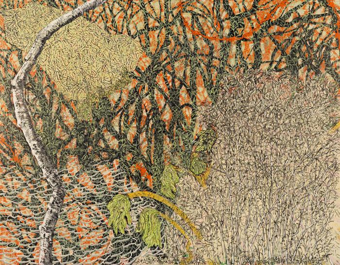 Sverdlove Scatter oil on canvas 54x42 2015 web